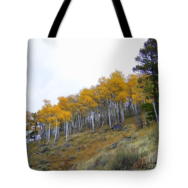 Golden Stand Tote Bag