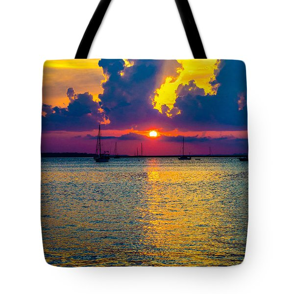 Golden Waters Tote Bag by Shannon Harrington