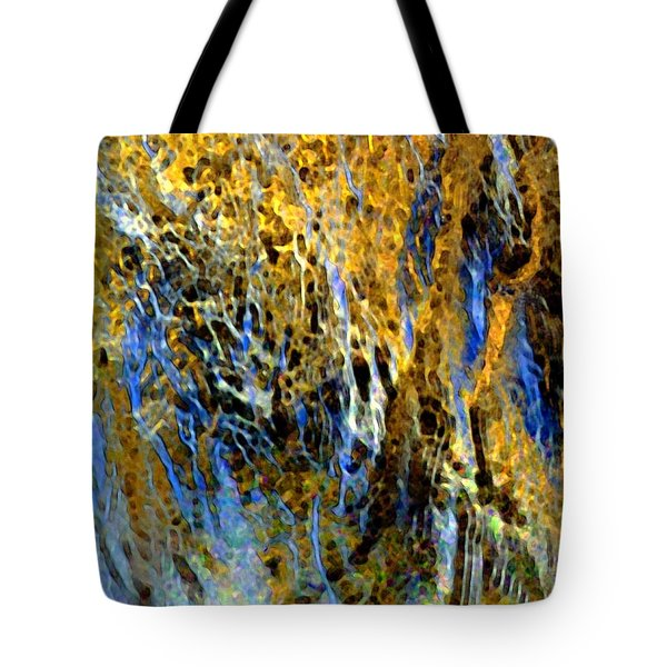 Golden Weeping Willow Tote Bag by Dale   Ford
