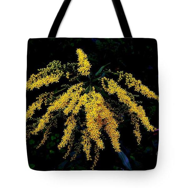 Goldenrod Tote Bag by Priscilla Richardson