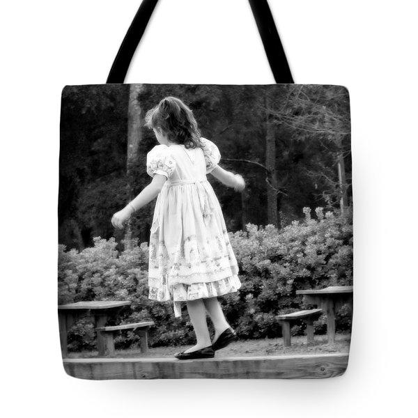 Goldilocks Tote Bag by Karen Wiles