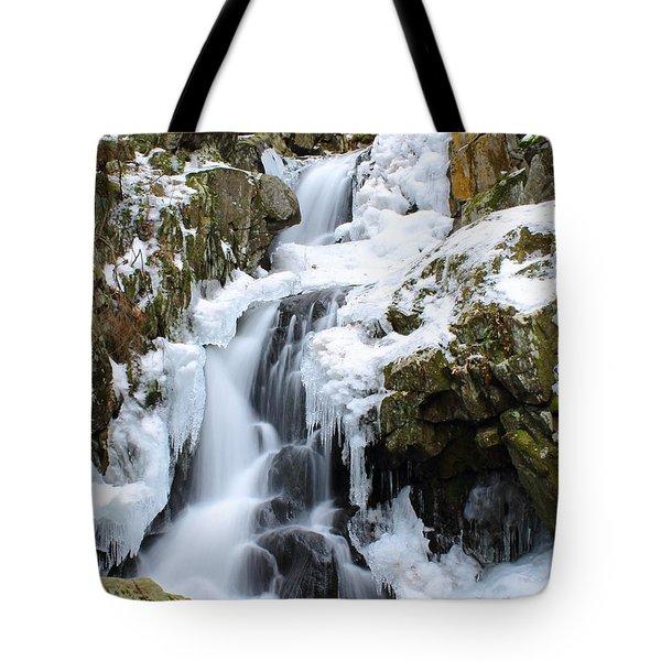 Goldmine Falls Tote Bag