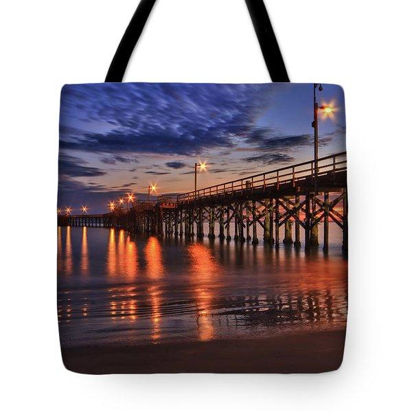 Goleta Pier Tote Bag