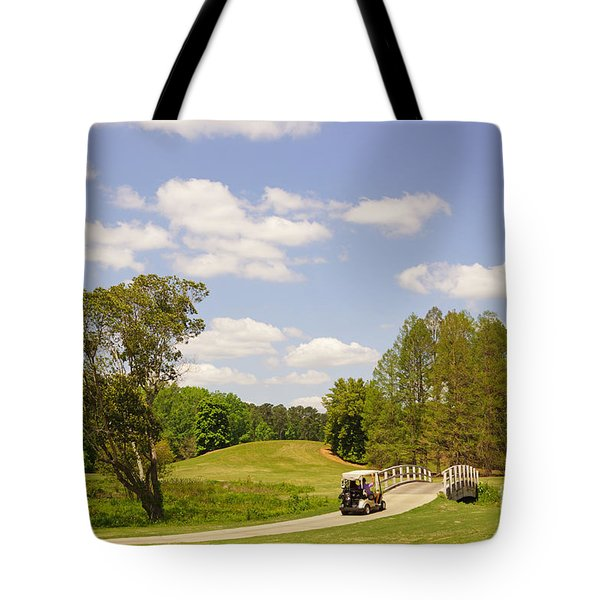 Golf At Calloway Gardens Tote Bag