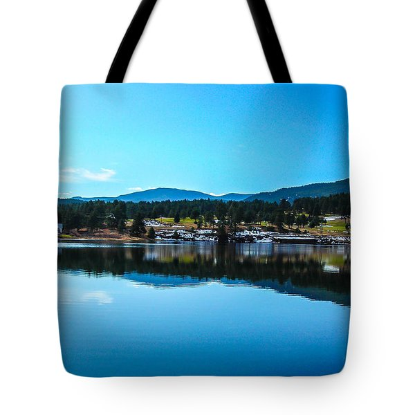 Tote Bag featuring the photograph Golf Course by Shannon Harrington