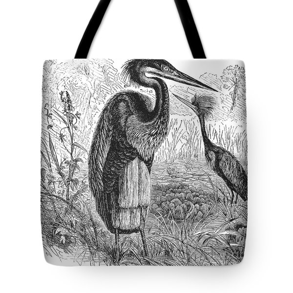 Goliath Heron Tote Bag by Granger