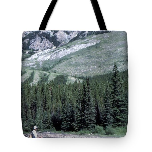 Tote Bag featuring the photograph Gone Fishin by Jim Sauchyn