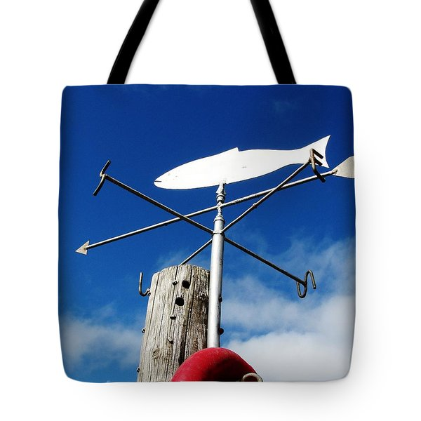 Tote Bag featuring the photograph Gone Fishing by Charlie and Norma Brock