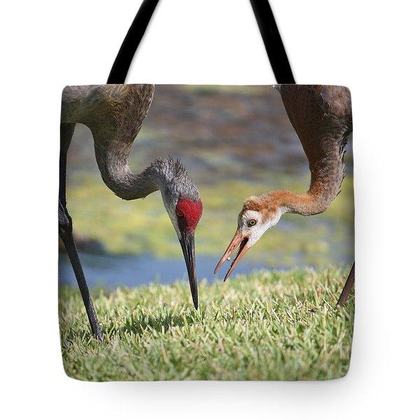 Good Catch Tote Bag by Carol Groenen