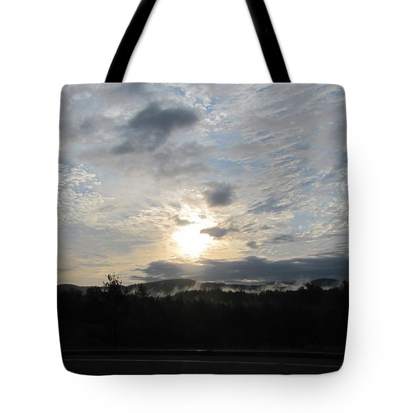 Tote Bag featuring the photograph Good Morning New York State by Maciek Froncisz