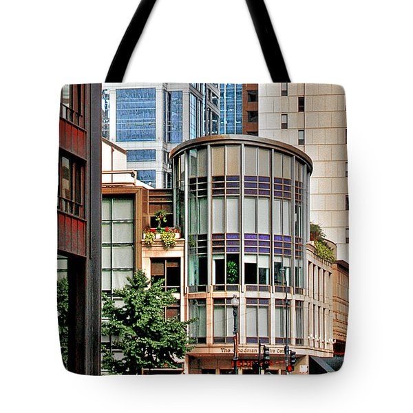 Goodman Theatre Chicago Illinois Tote Bag by Christine Till