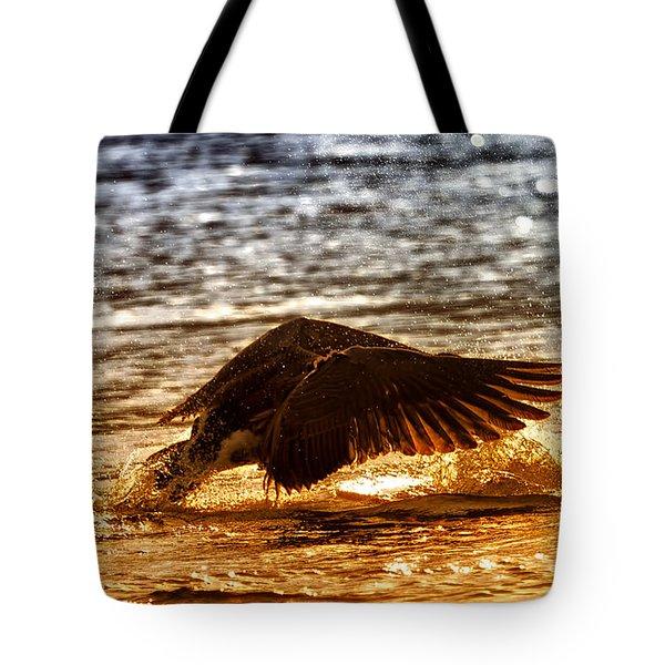 Goose Attack Tote Bag