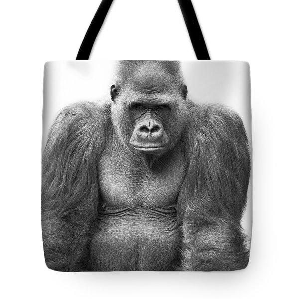 Gorilla Tote Bag by Darren Greenwood