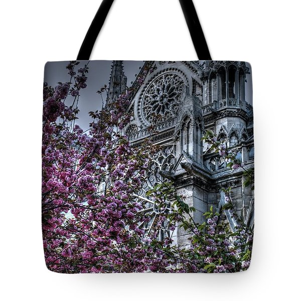 Gothic Paris Tote Bag by Jennifer Ancker