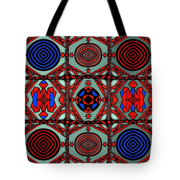 Gothic Wall Tote Bag