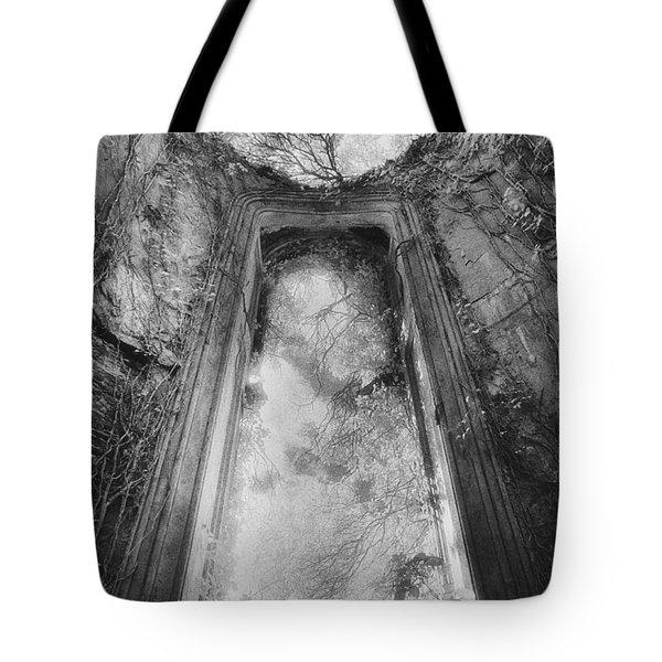 Gothic Window Tote Bag by Simon Marsden