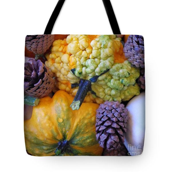 Tote Bag featuring the photograph Gourds 4 by Deniece Platt