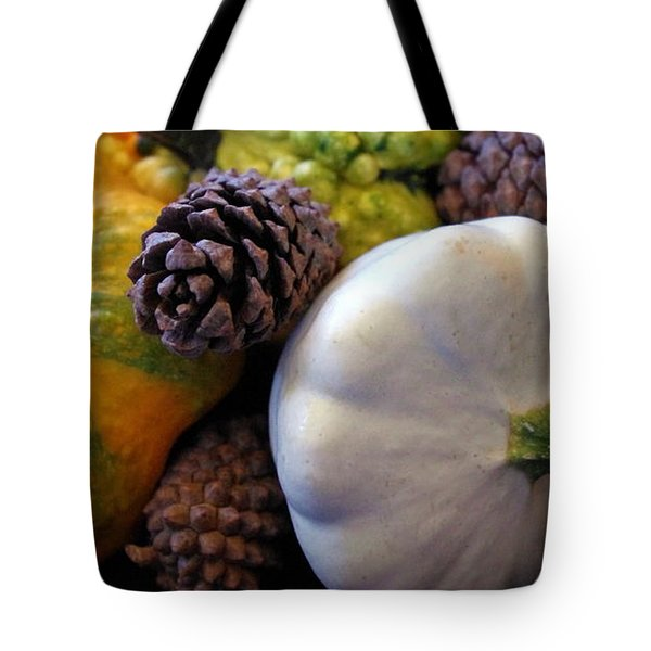 Tote Bag featuring the photograph Gourds 6 by Deniece Platt