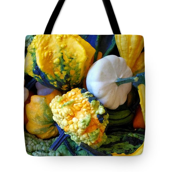 Tote Bag featuring the photograph Gourds 8 by Deniece Platt