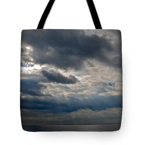 Gozo Skies Tote Bag by Eric Tressler