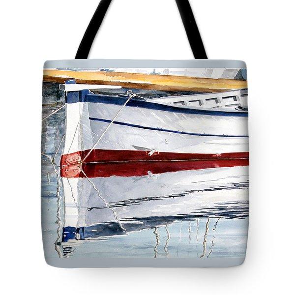 Gozzo Bianco Tote Bag by Giovanni Marco Sassu