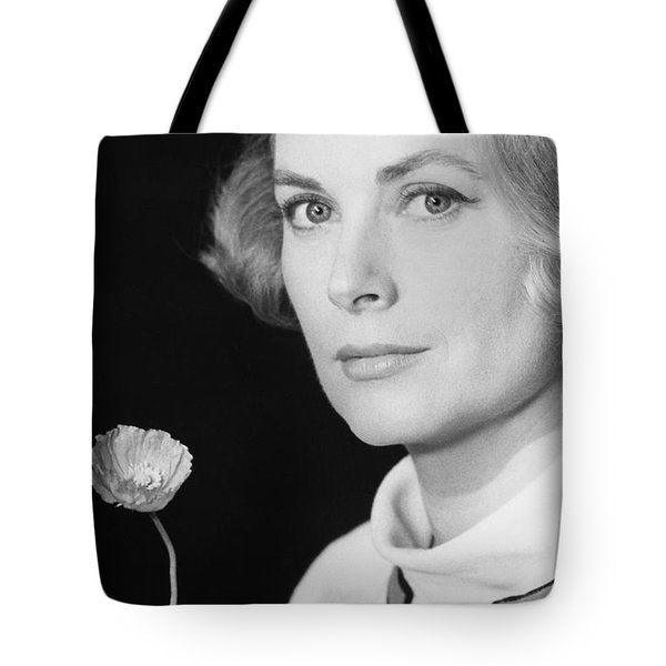 Grace Kelly (1928-1982) Tote Bag by Granger
