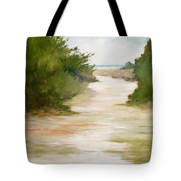 Grace Of The Sea Tote Bag