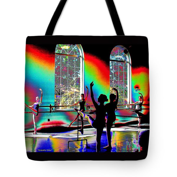 Graceful Glow Tote Bag