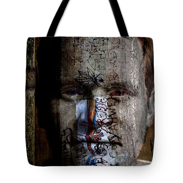 Graffiti Tote Bag by Christopher Gaston