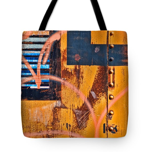 Graffiti Train Tote Bag