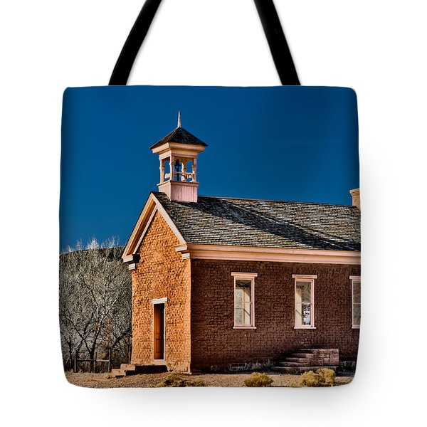 Grafton Schoolhouse Tote Bag by Christopher Holmes