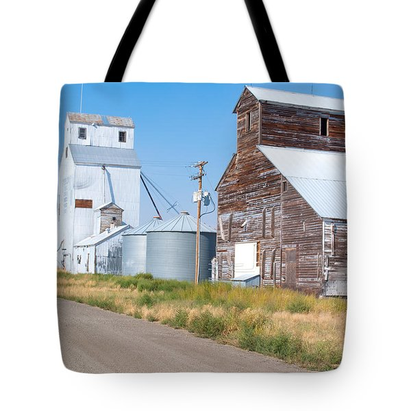 Grain Elevators Tote Bag