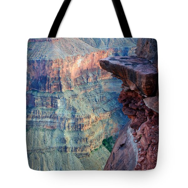 Grand Canyon A Place To Stand Tote Bag by Bob Christopher