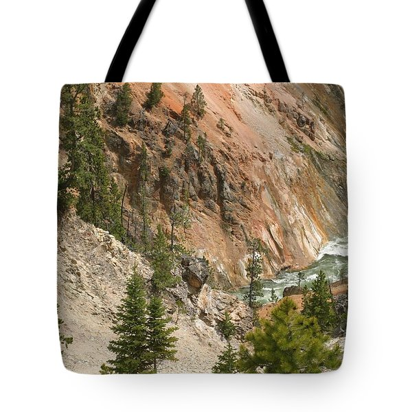 Grand Canyon And Yellowstone River Tote Bag by Living Color Photography Lorraine Lynch