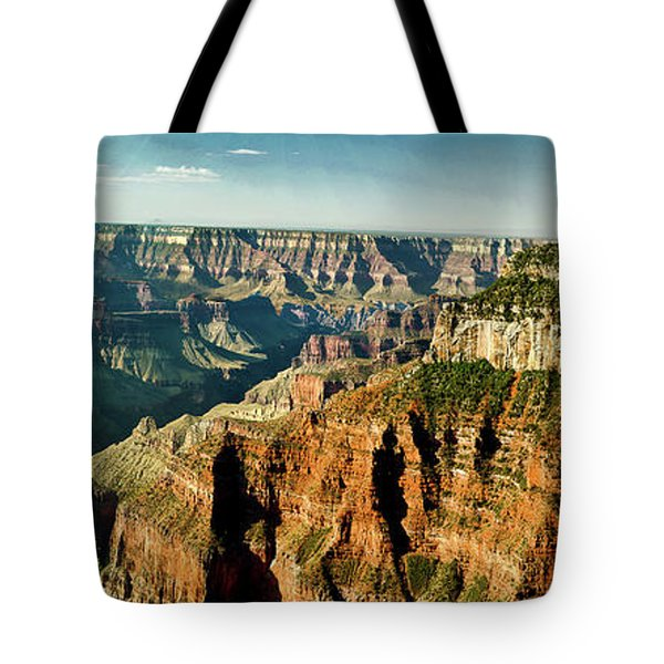 Grand Canyon Angel Panorama Tote Bag by Bob and Nadine Johnston