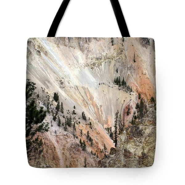Grand Canyon Colors Of Yellowstone Tote Bag by Living Color Photography Lorraine Lynch
