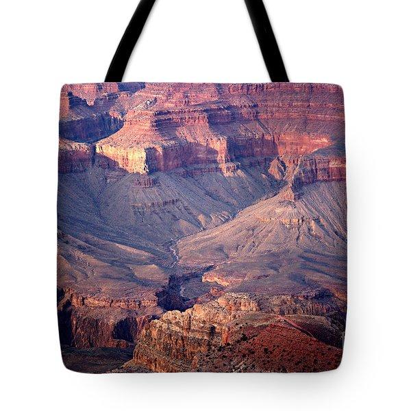 Grand Canyon Evening Interior Tote Bag by Michael Kirsh
