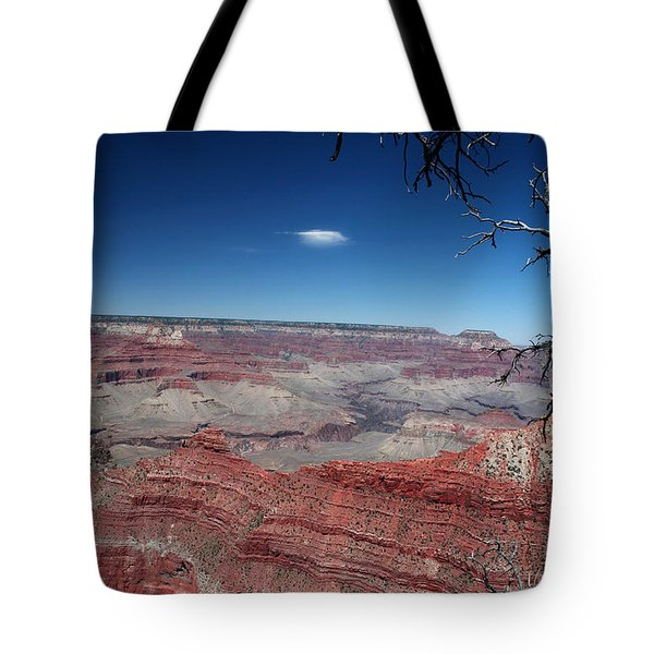 Tote Bag featuring the photograph Grand Canyon Number Three by Lon Casler Bixby