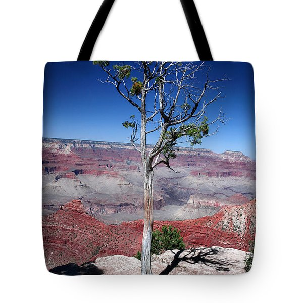 Tote Bag featuring the photograph Grand Canyon Number Two by Lon Casler Bixby