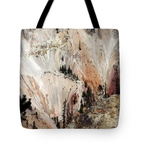 Grand Canyon Of Yellowstone Vertical Tote Bag by Living Color Photography Lorraine Lynch