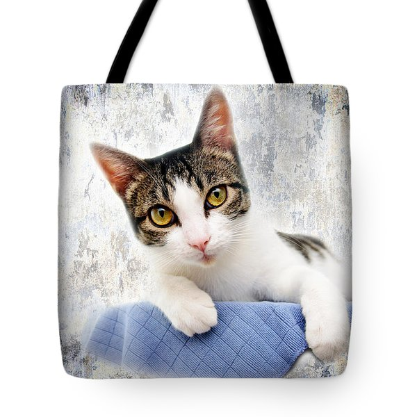Grand Kitty Cuteness 2 Tote Bag by Andee Design