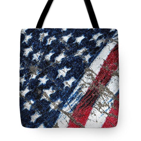 Grand Ol' Flag Tote Bag by Bill Owen