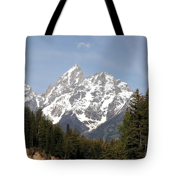 Grand Tetons Tote Bag by Living Color Photography Lorraine Lynch