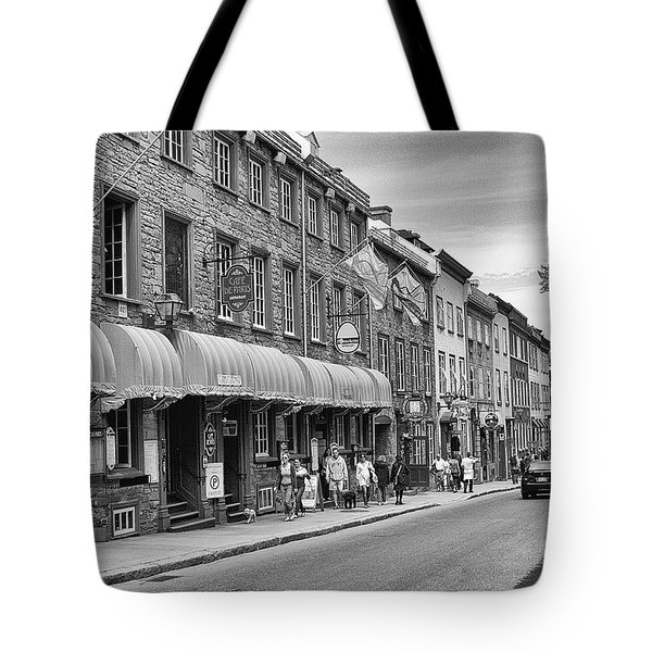 Grande Allee Tote Bag by Eunice Gibb