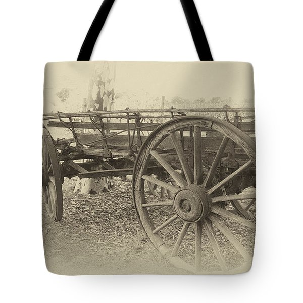 Grandfather's Sunday Drive Tote Bag by Douglas Barnard