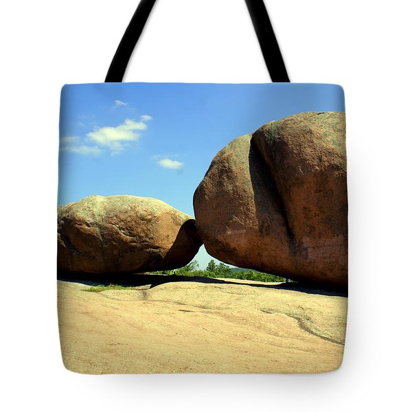 Granite Boulders 2  Tote Bag by Marty Koch