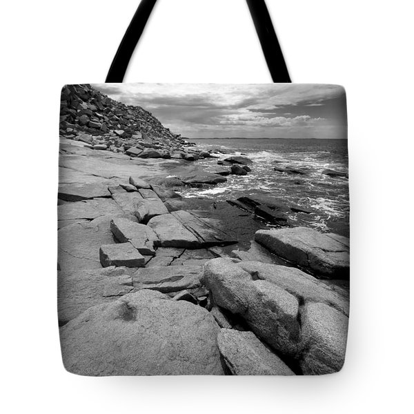 Granite Shore Tote Bag