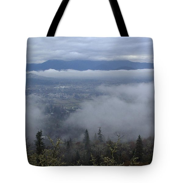 Grants Pass Weather Tote Bag by Mick Anderson