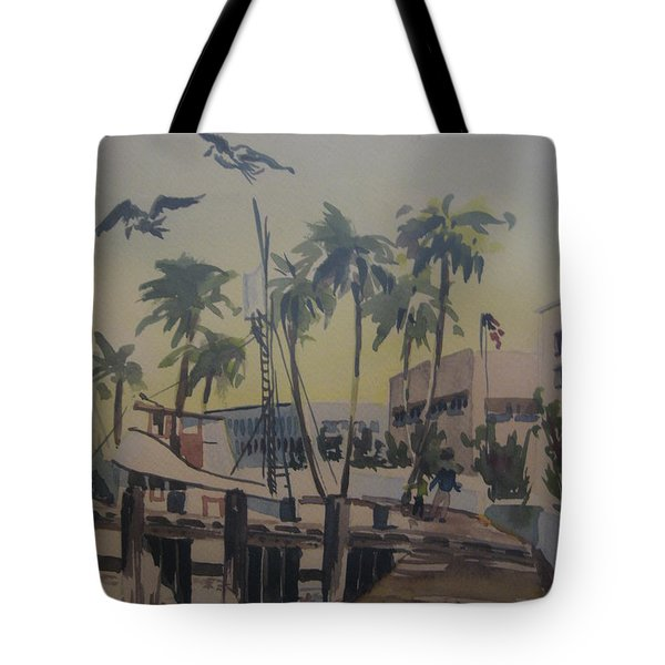 Grape Street Tote Bag by Barbara Prestridge
