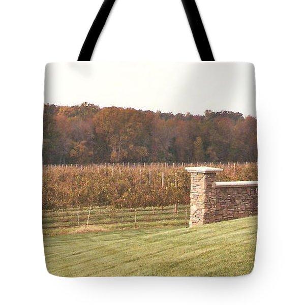 Grape Vines  Tote Bag